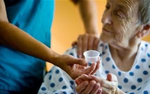 Picture of elderly patient